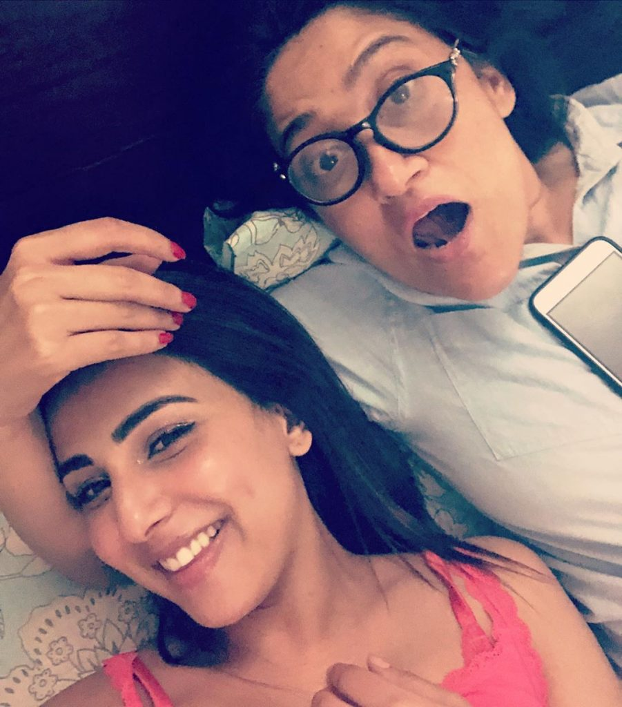 Memorable Pictures Of Ushna Shah Of Her Childhood With Her Gorgeous Sister