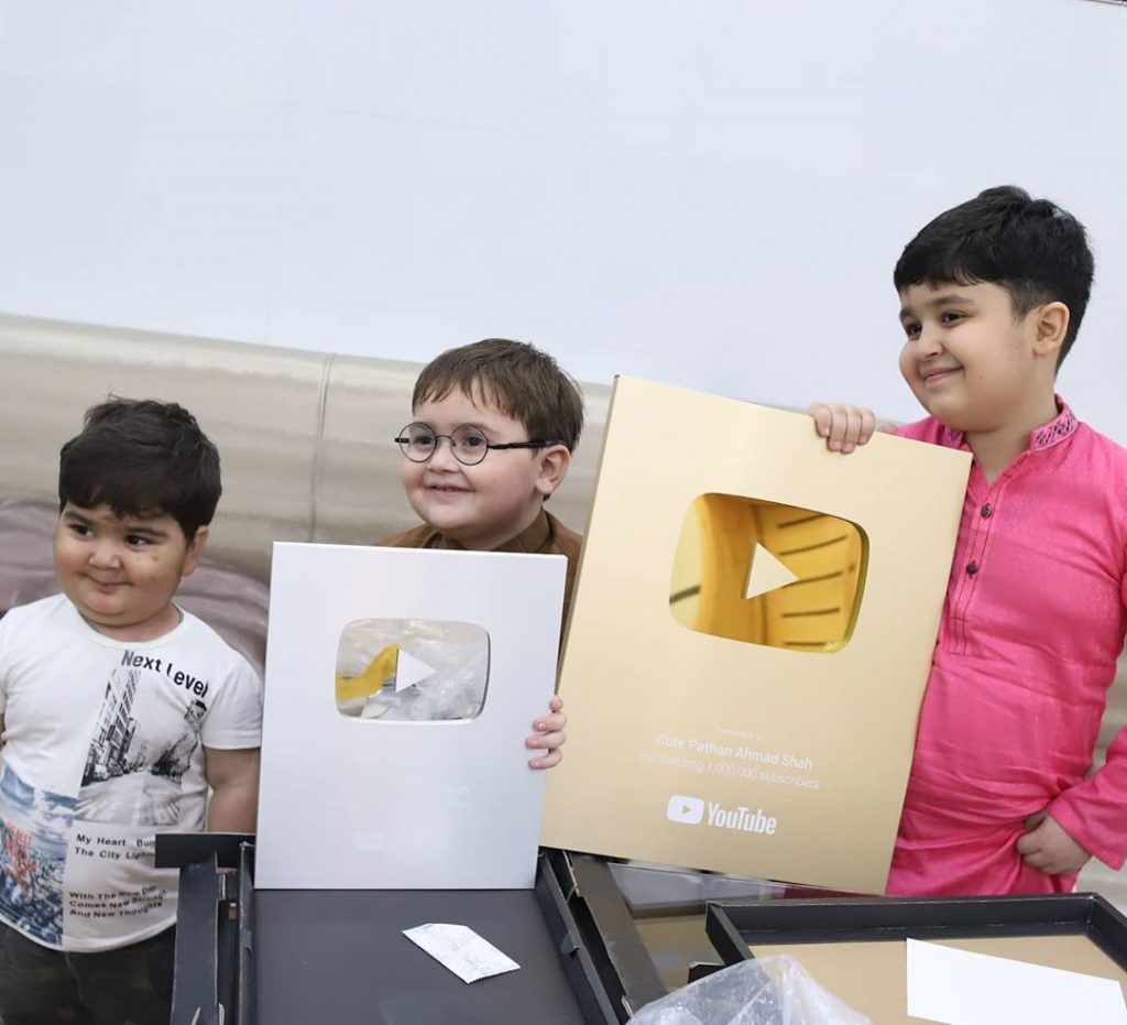 Ahmed Shah Earns Two YouTube Play Buttons