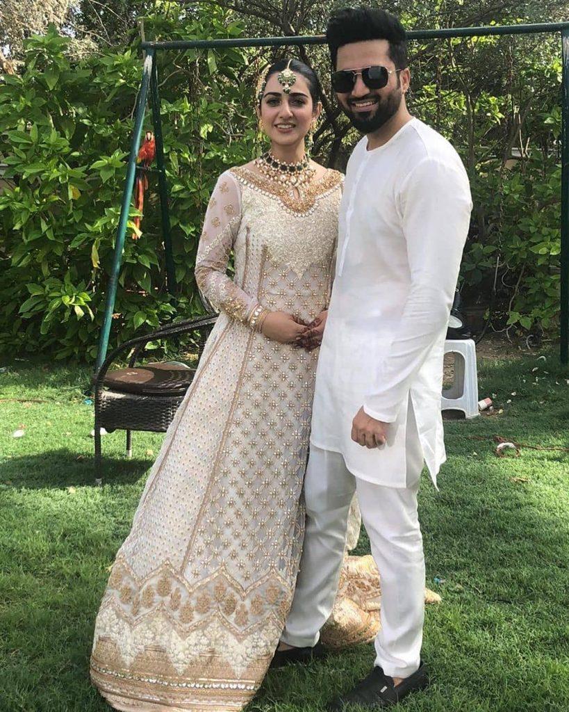 Designer Zainab Chottani Recreates Sarah Khan & Falak Shabir's Wedding