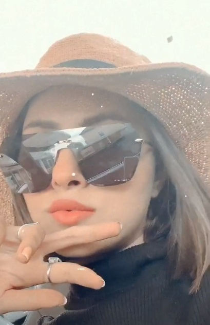 Nimra Khan Enjoying Road Trip With Husband - Latest Pictures