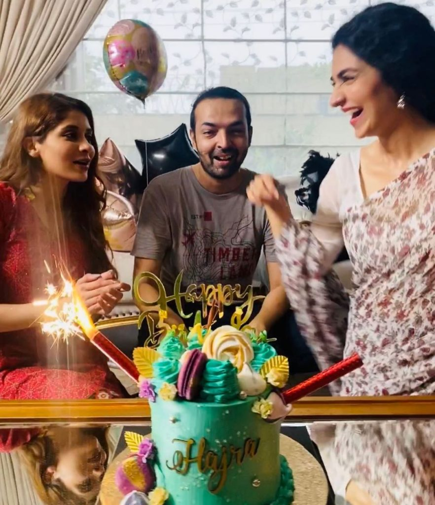 Adorable Hajra Yamin Celebrated Her Birthday 10