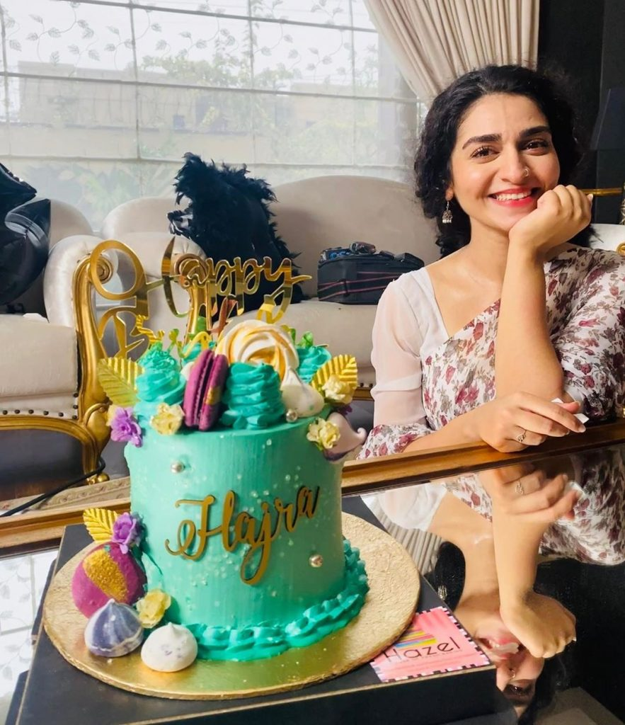 Adorable Hajra Yamin Celebrated Her Birthday 8
