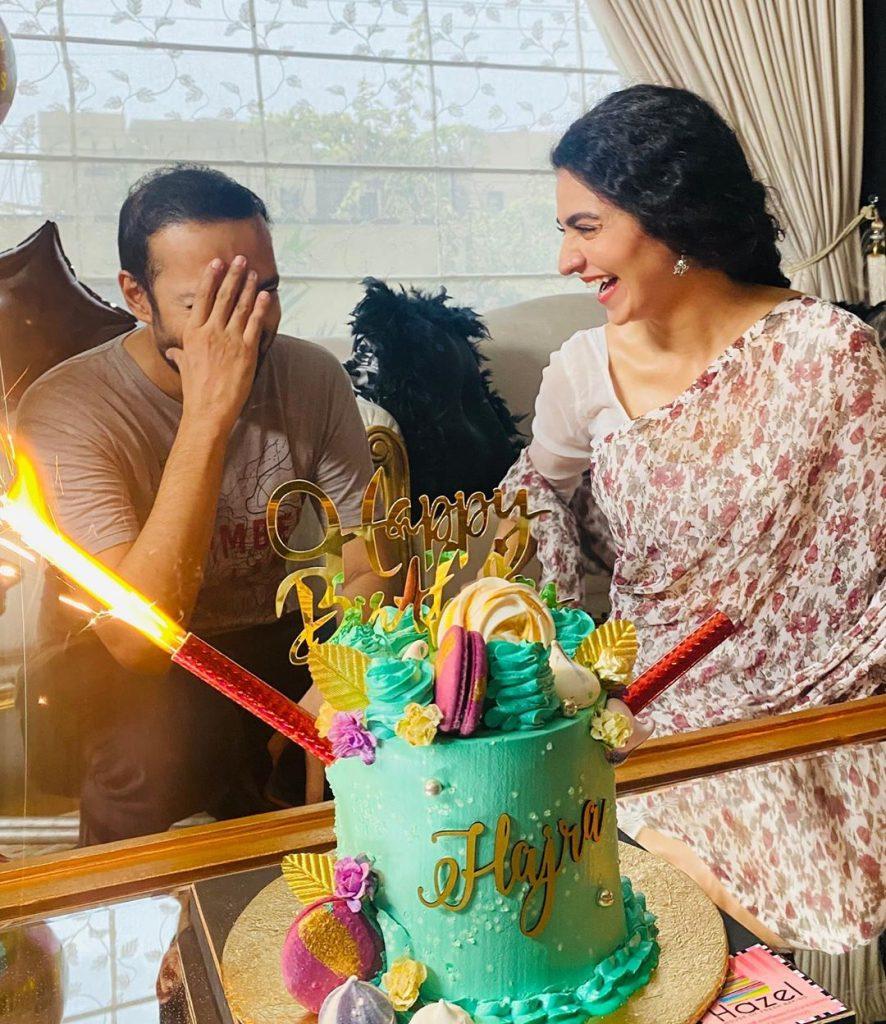 Adorable Hajra Yamin Celebrated Her Birthday