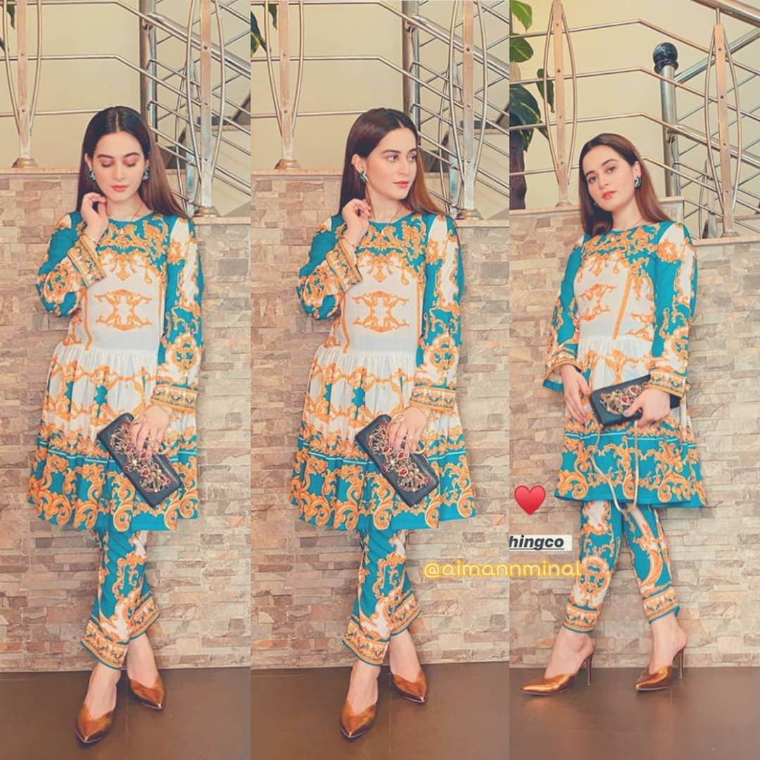 Aiman Khan is Looking Gorgeous in her Latest Pictures