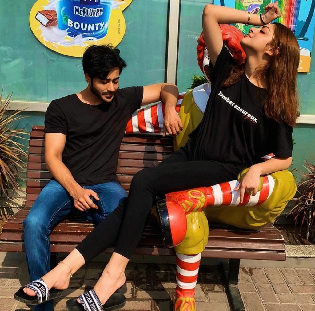 Alizeh Shah & Noaman Sami Indulge In Fun Banter On Social Media