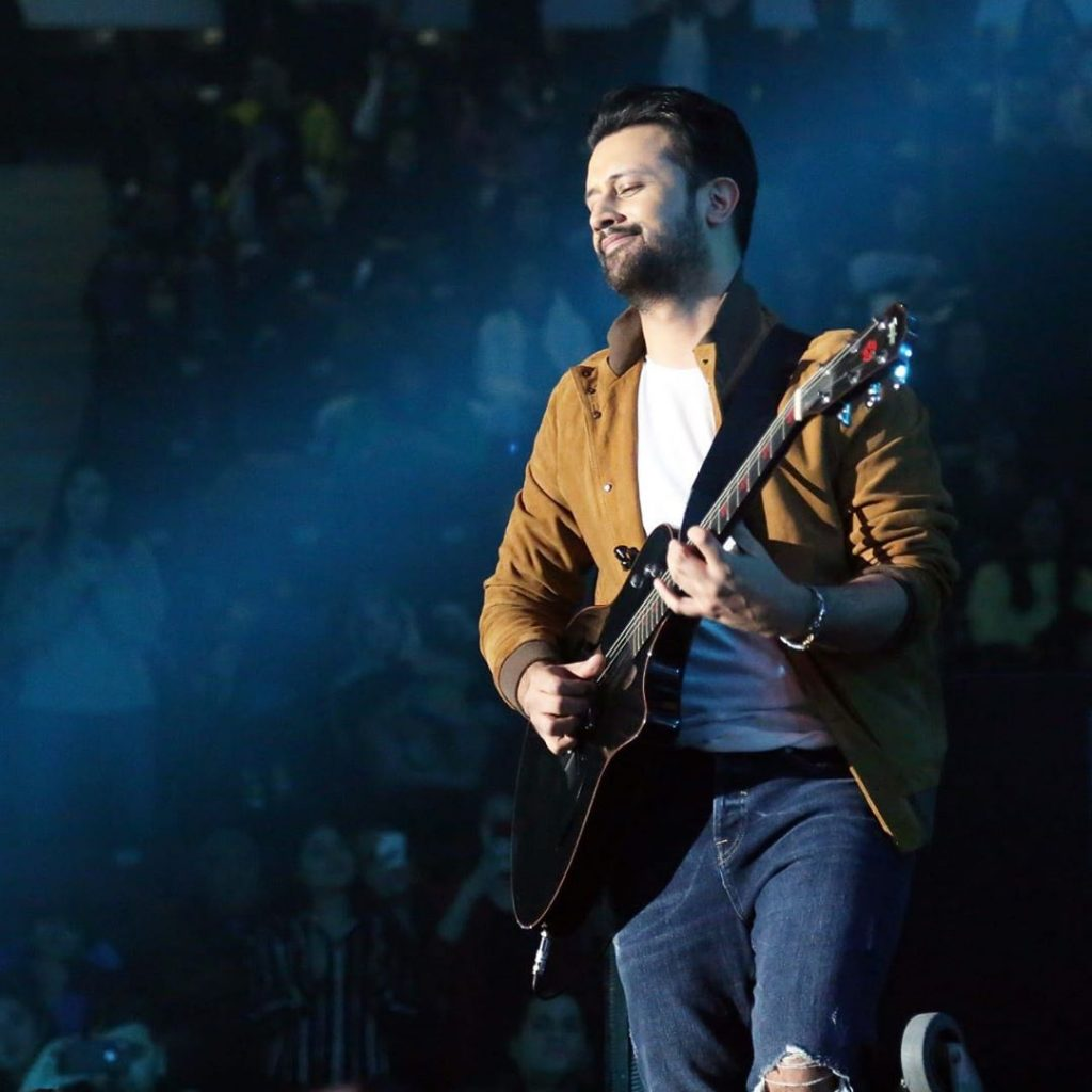 Atif Aslam Teaching Son To Play Guitar 8