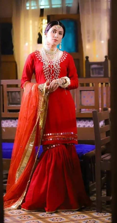 Beautiful Red Dresses Worn By Top Pakistani Actresses