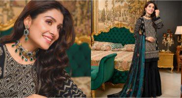 Ayeza Khan Looks Ravishing In Latest Lawn Shoot 39