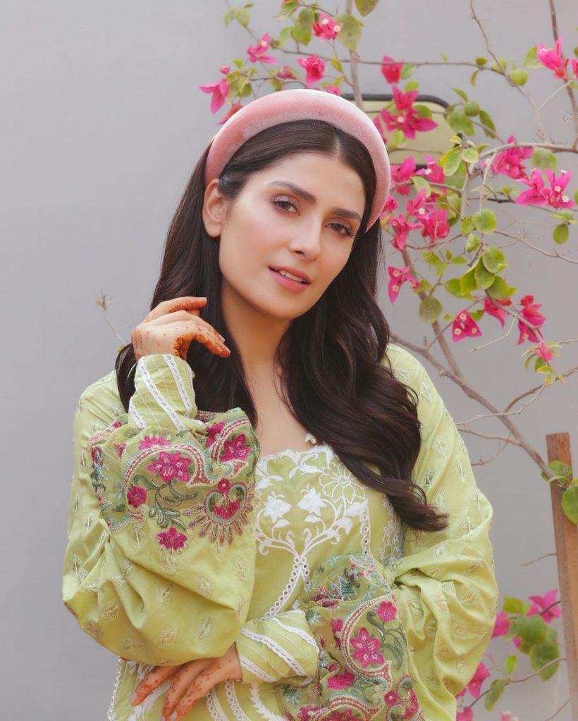 Ayeza Khan Looks Stunning In Latest Shoot 12