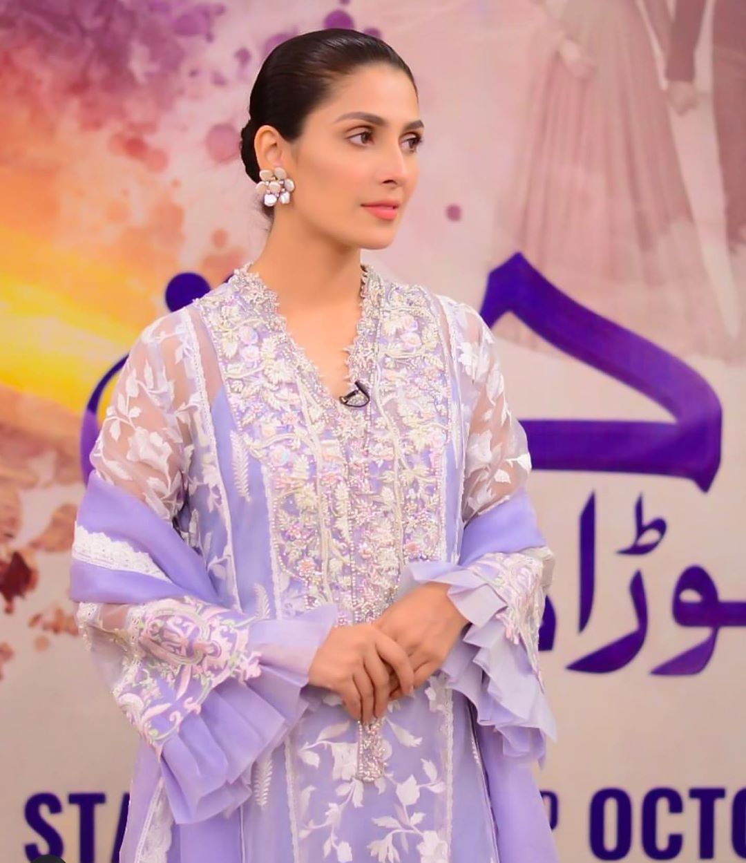 Ayeza Khan and Mashal Khan Clicks from Nida Yasir Morning Show