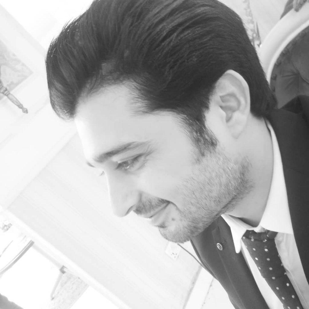 Babar Khan Introduced His New Born Baby 43