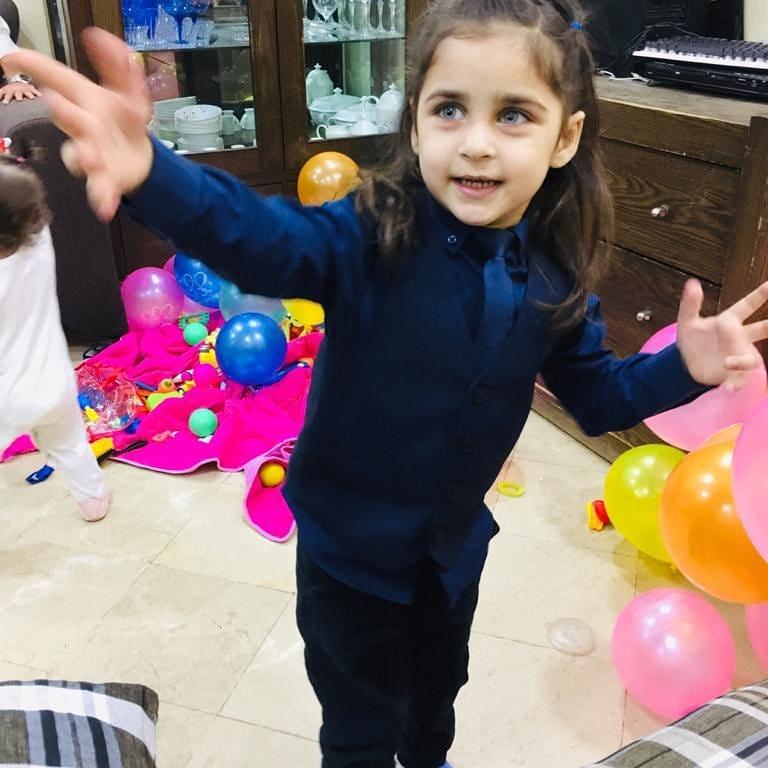 Babar Khan Introduced His New Born Baby 45