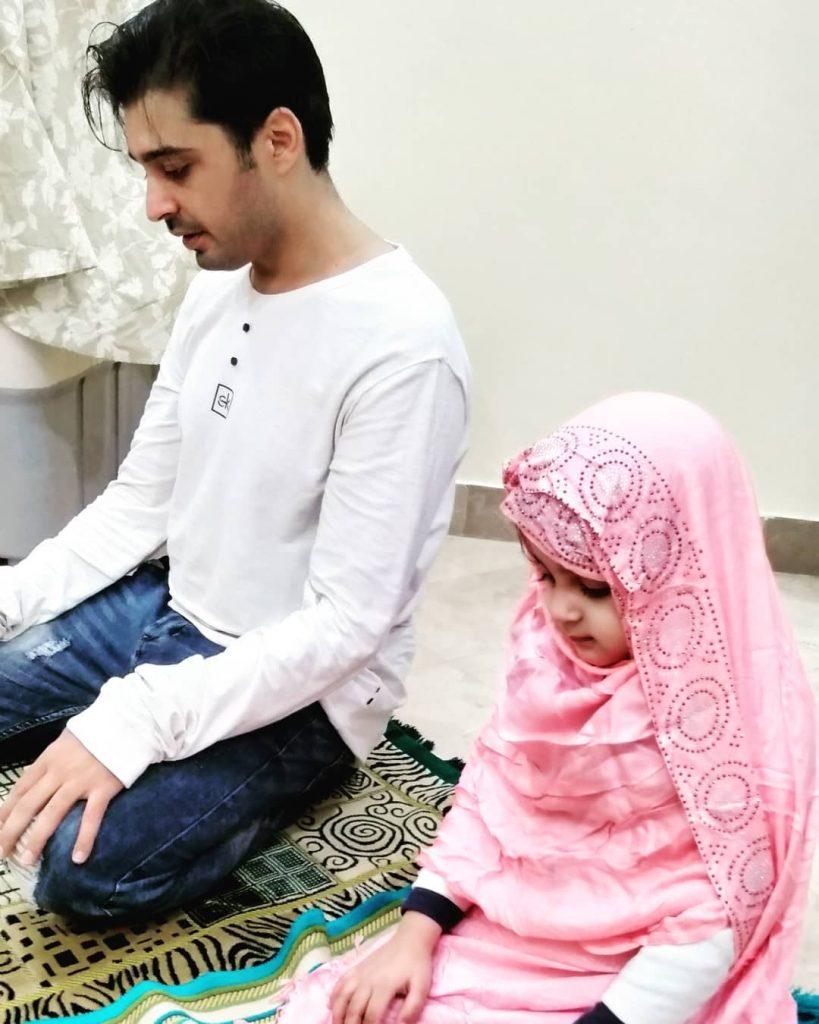 Babar Khan Introduced His New Born Baby 5