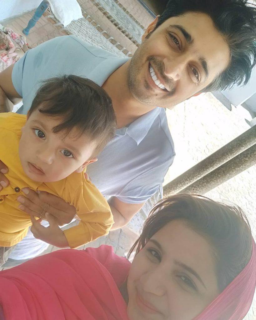 Babar Khan Introduced His New Born Baby 6