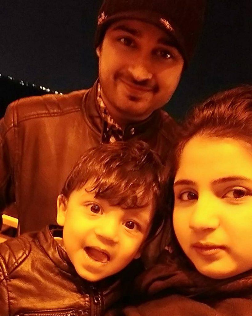 Babar Khan Introduced His New Born Baby 7