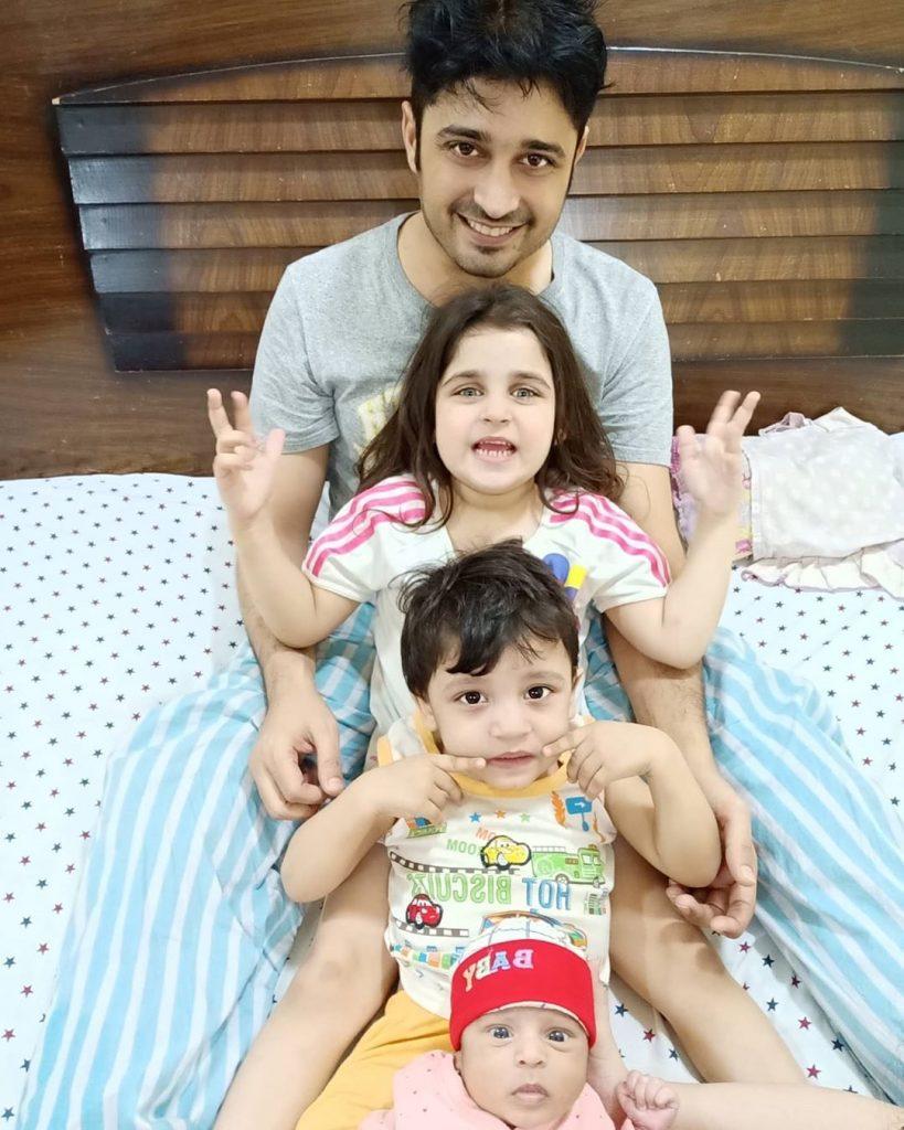 Babar Khan Introduced His New Born Baby 8