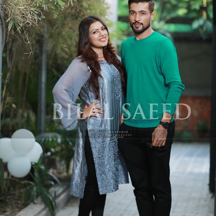 Cricketer Muhammad Amir Blessed With Baby Girl 5