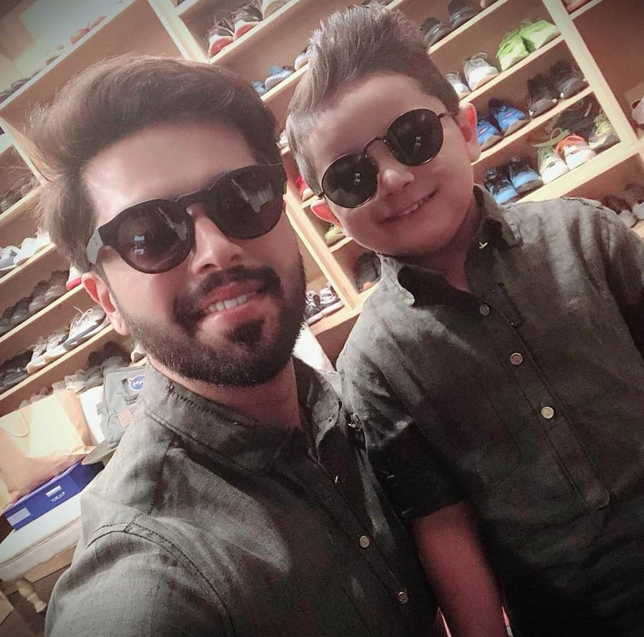 Matching Outfits Worn By Pakistani Celebrities And Their Children