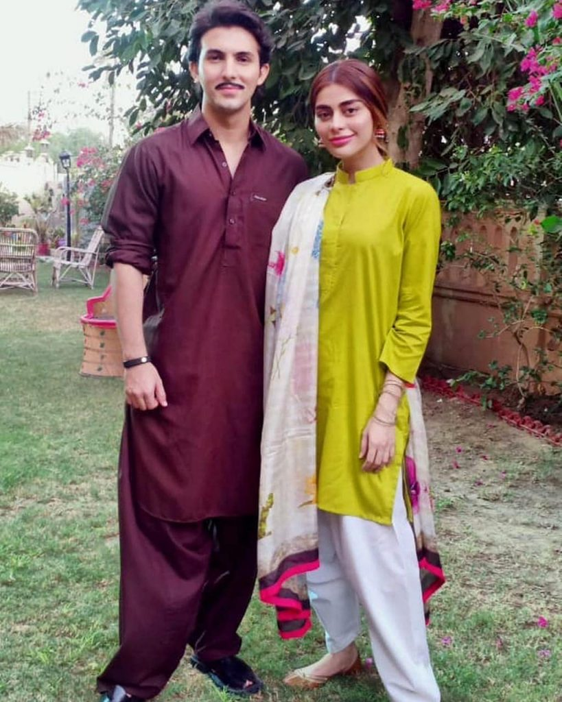 First Interview Of Sadaf And Shahroz About Upcoming Telefilm 15