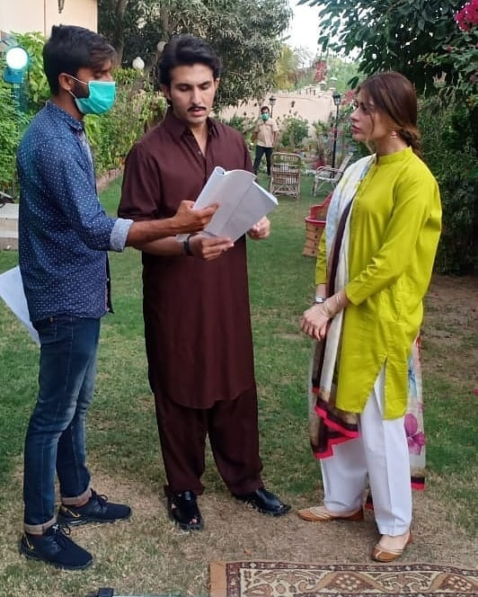 First Interview Of Sadaf And Shahroz About Upcoming Telefilm 16