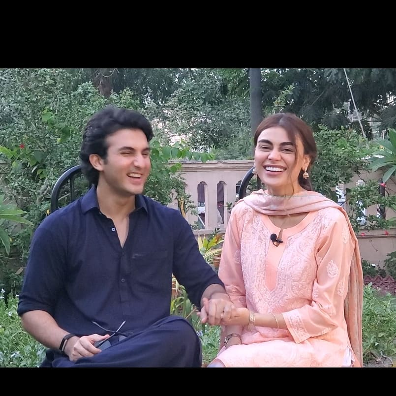 First Interview Of Sadaf And Shahroz About Upcoming Telefilm 56