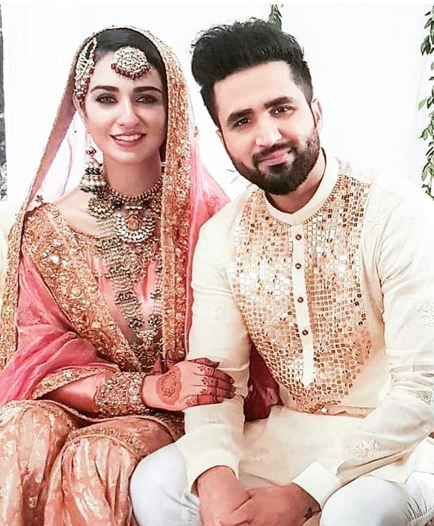 Here's Beautiful Moment From Sarah, Falak's Wedding