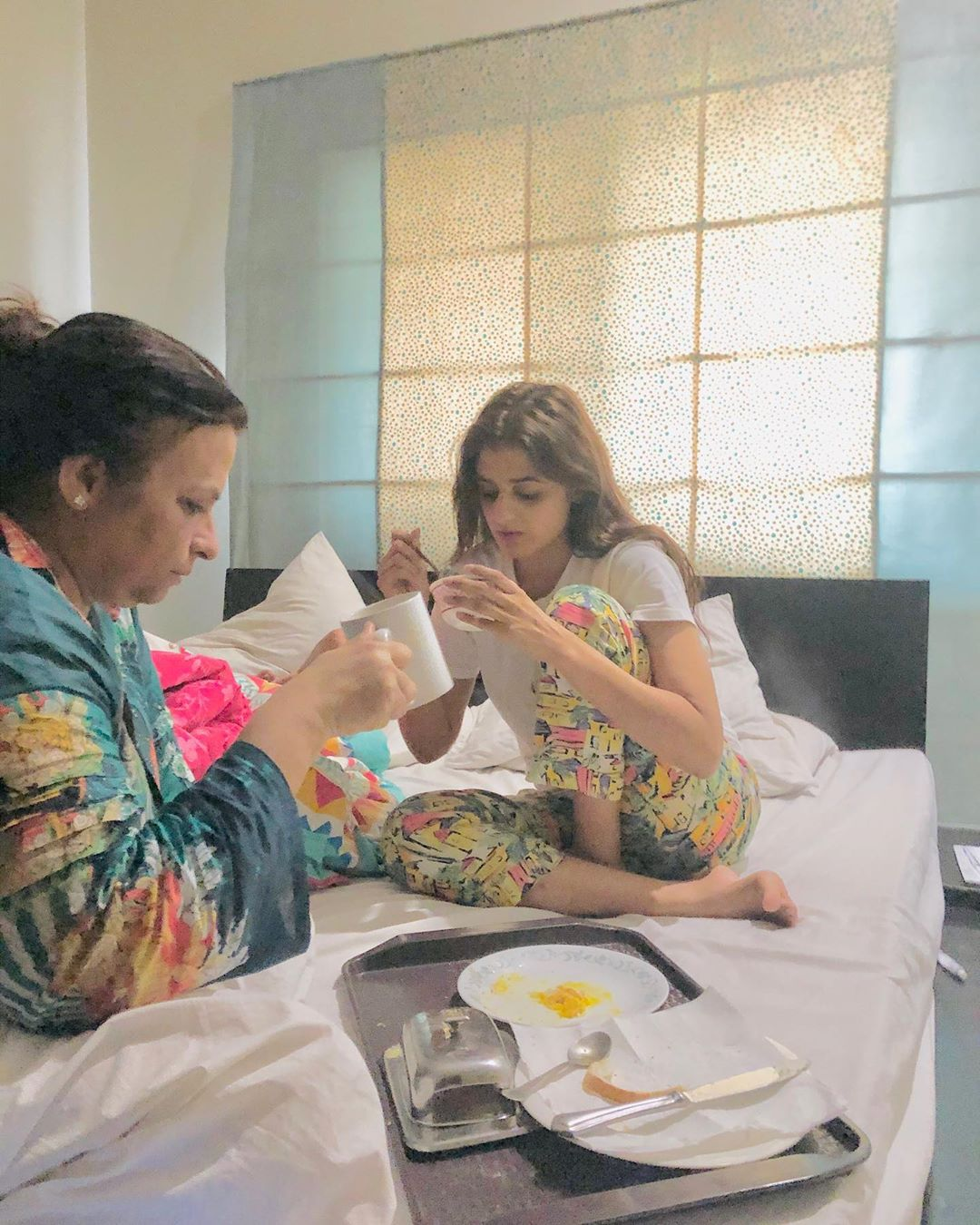 Hira Mani with her Mother - Latest Pictures