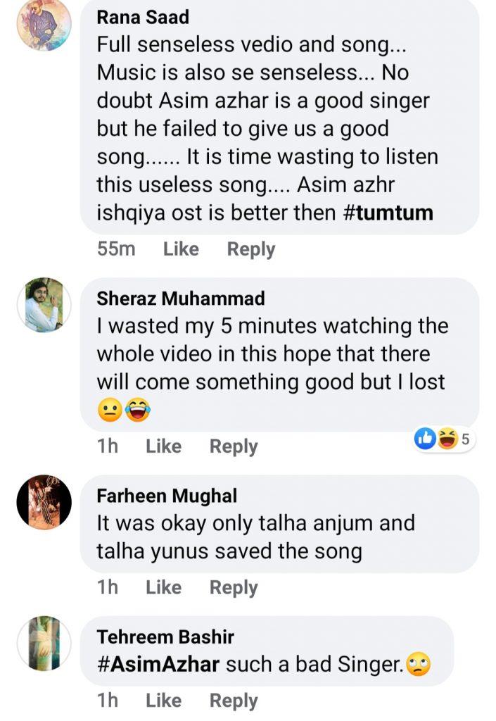 "Public Reaction On Asim Azhar's New Song ""Tum Tum"""