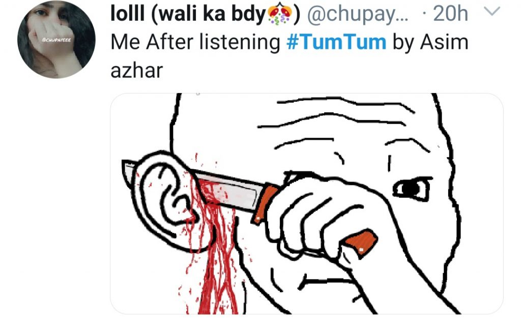 "Hilarious Memes On Asim's New Song ""Tum Tum"""