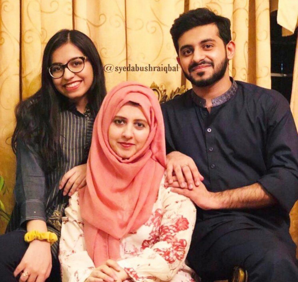 Syeda Bushra Iqbal Celebrating Her Son's Birthday