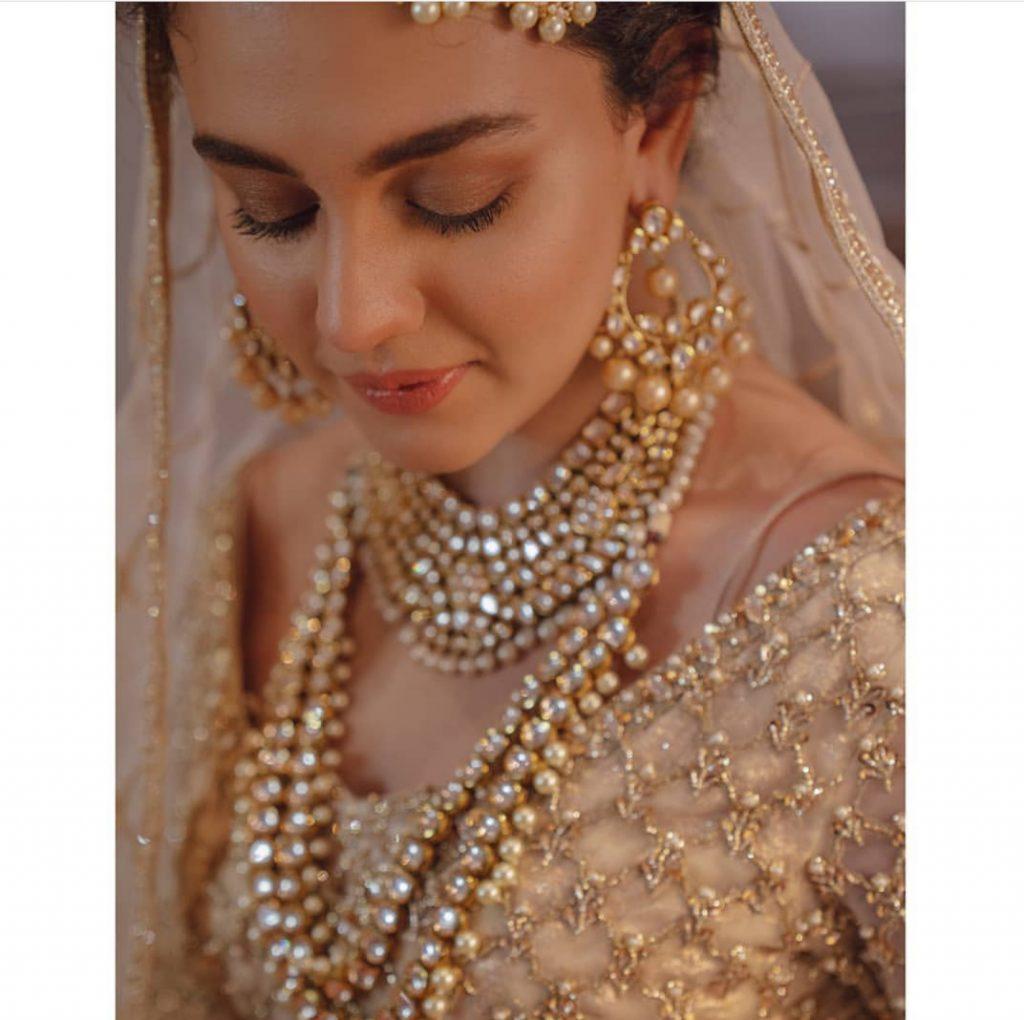 Zara Noor Abbas Looking Ravishing In Photo shoot For SFK Bridals