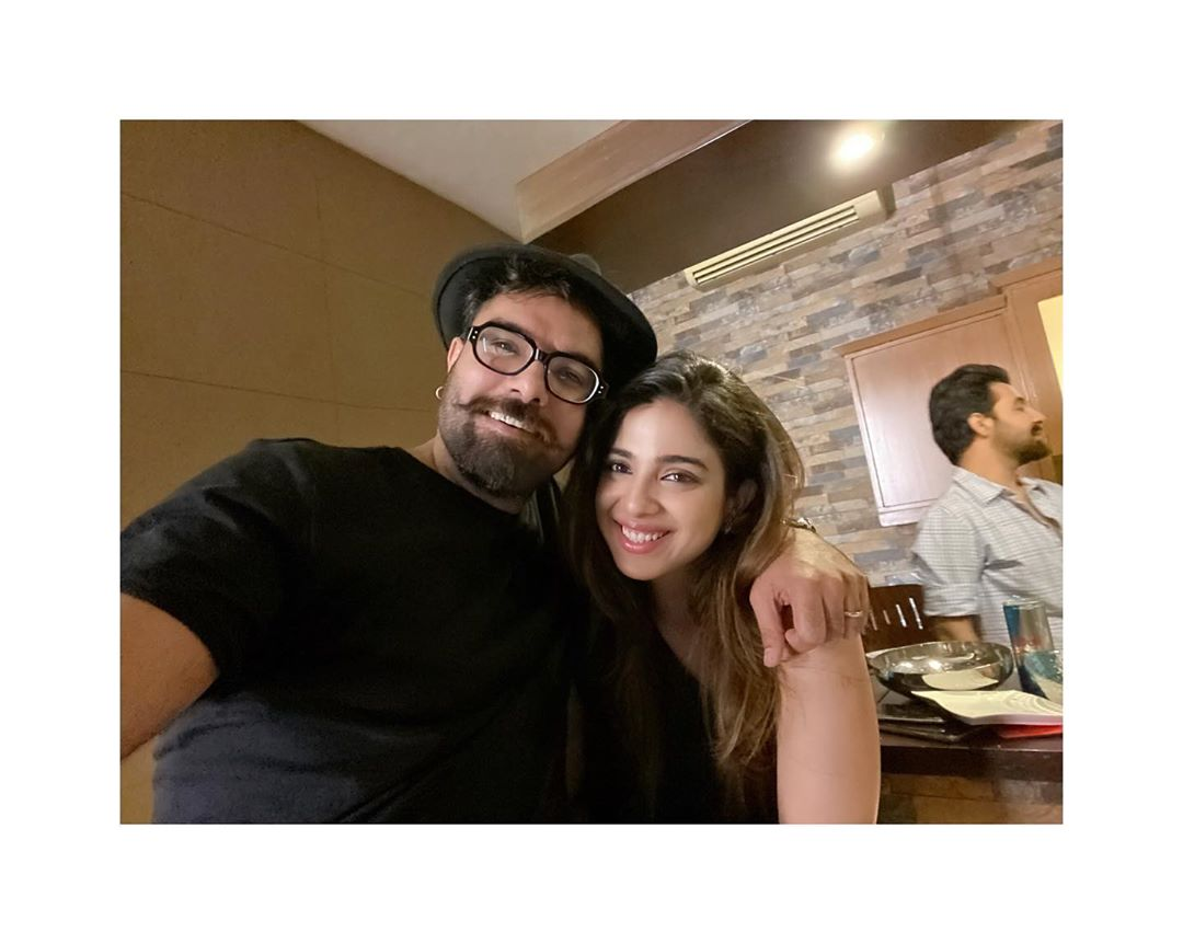 Iqra Aziz and Yasir Hussain get together with Friends
