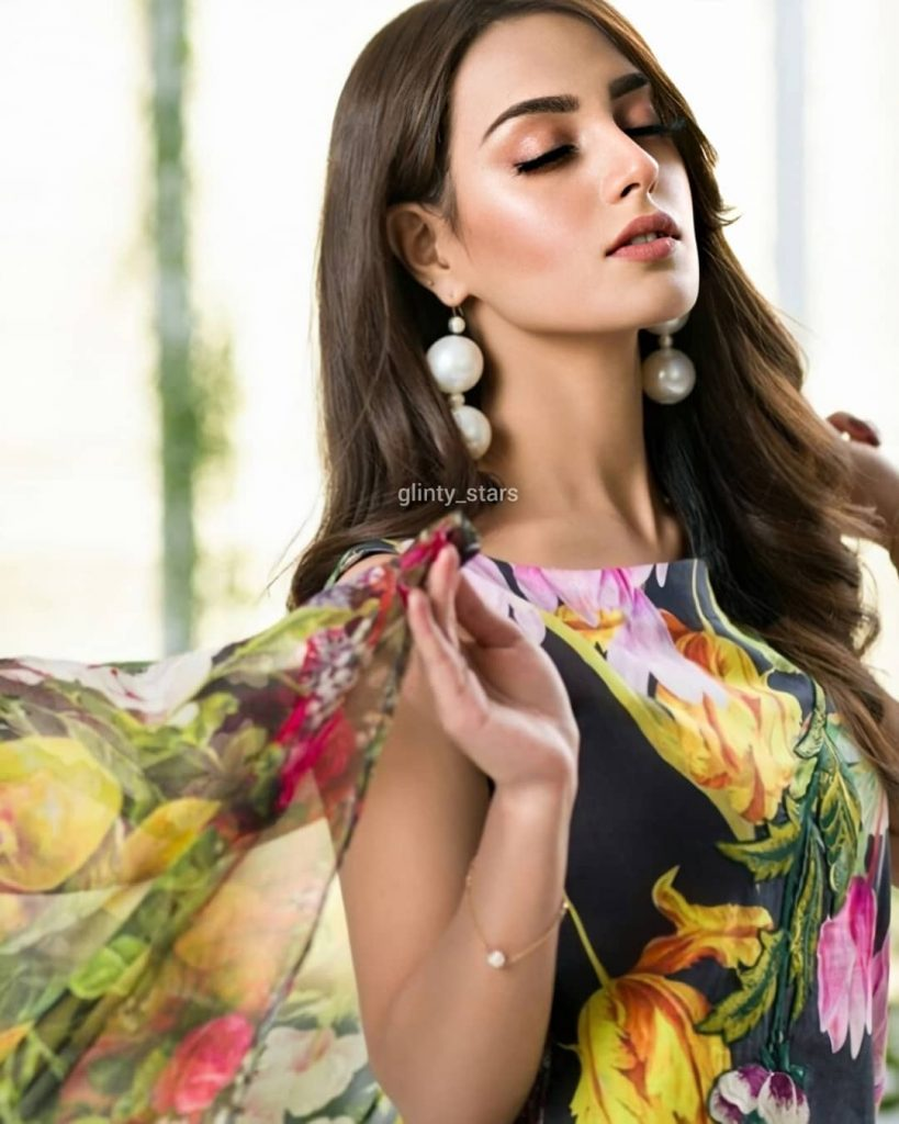 Iqra Azizs Latest Shoot In Beautiful Colors Of Summer 10