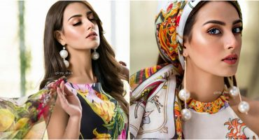 Iqra Azizs Latest Shoot In Beautiful Colors Of Summer 13