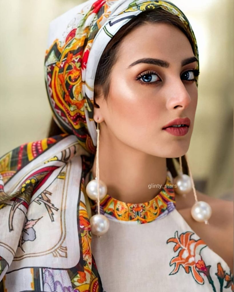 Iqra Azizs Latest Shoot In Beautiful Colors Of Summer 14