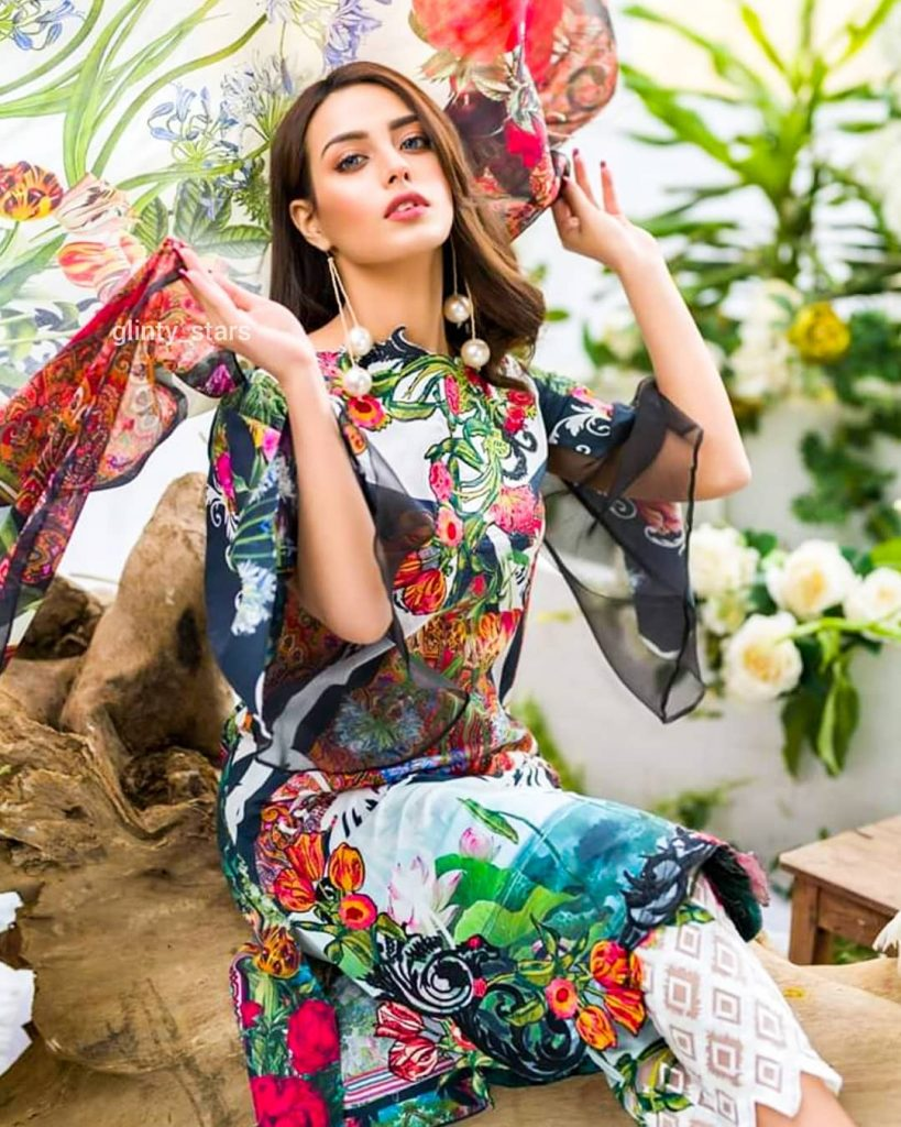 Iqra Azizs Latest Shoot In Beautiful Colors Of Summer 6