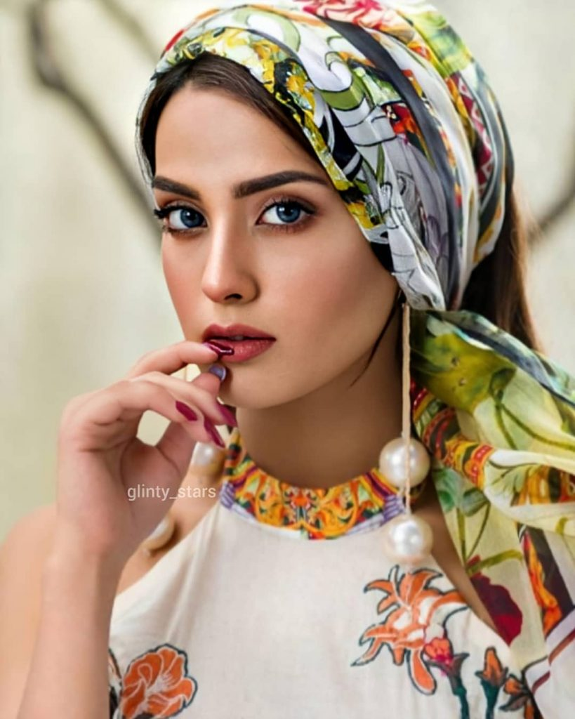 Iqra Azizs Latest Shoot In Beautiful Colors Of Summer 8