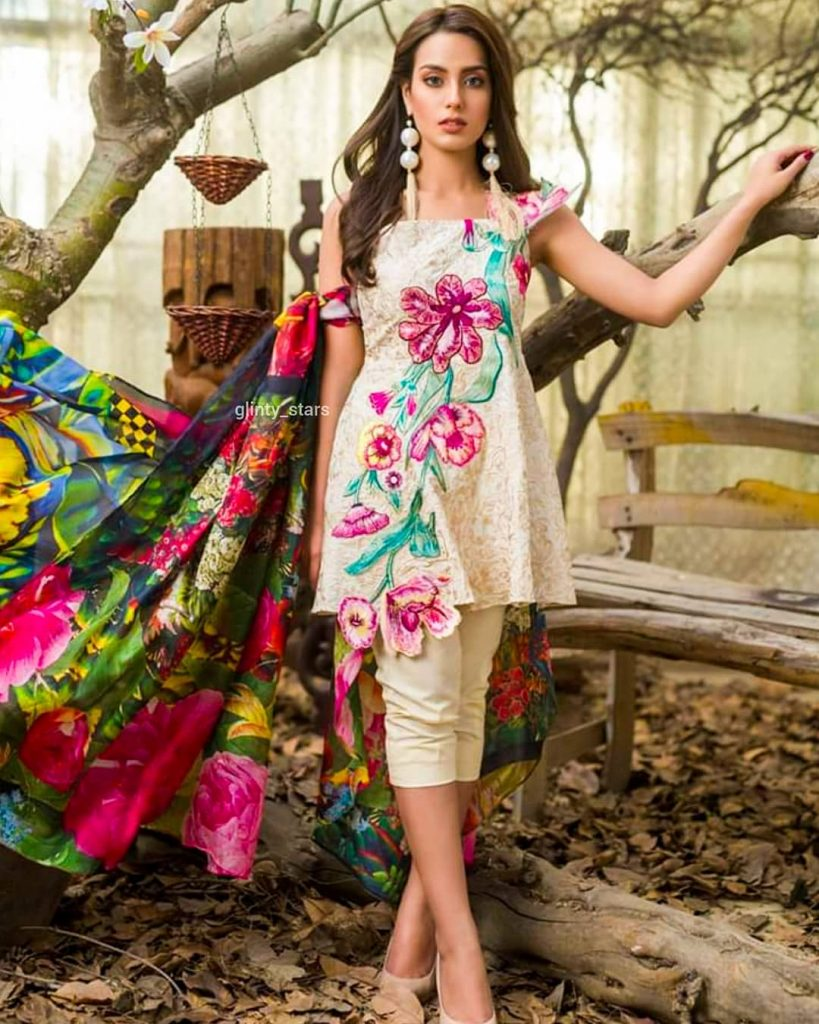 Iqra Azizs Latest Shoot In Beautiful Colors Of Summer 9