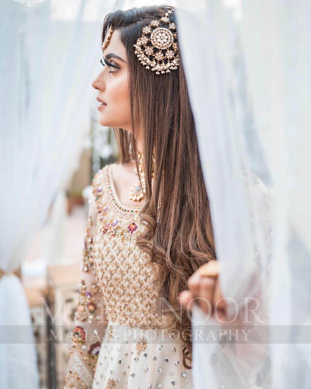 Tik Tok Star Kanwal Aftab Beautiful Bridal Photo Shoot