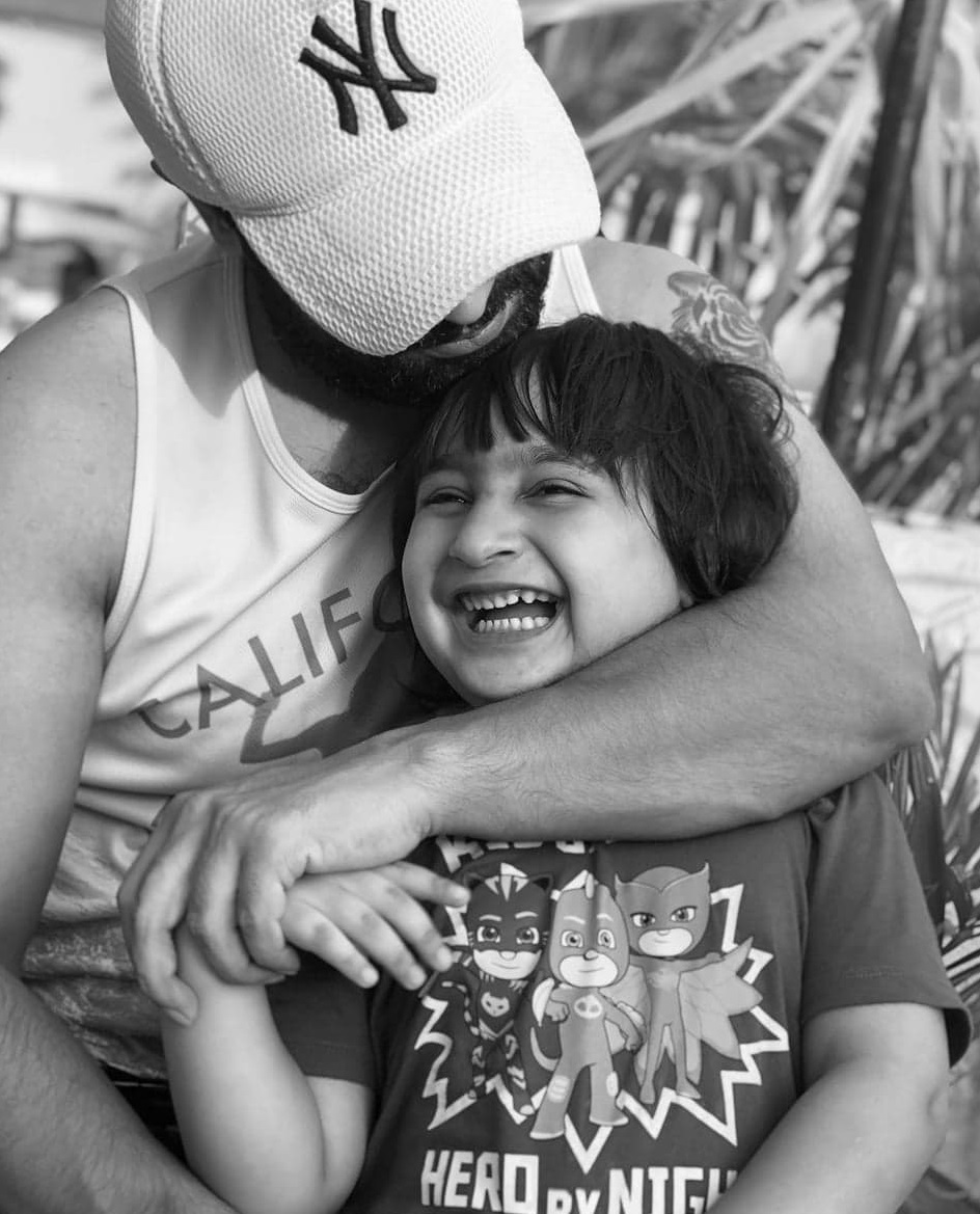 Best Moments of Celebrity Fathers With Their Children