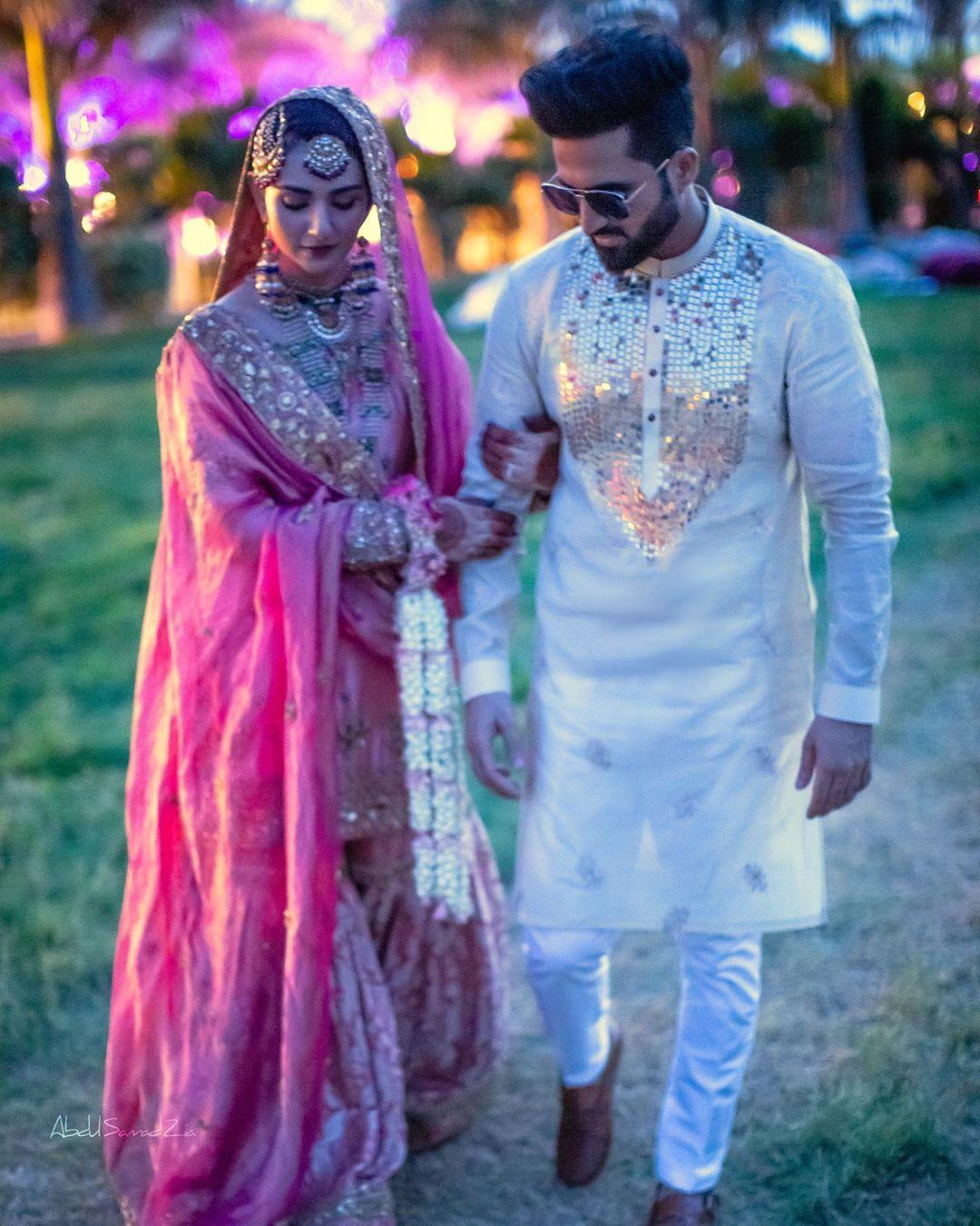 Sarah Khan And Falak Shabbir New Wedding Pictures