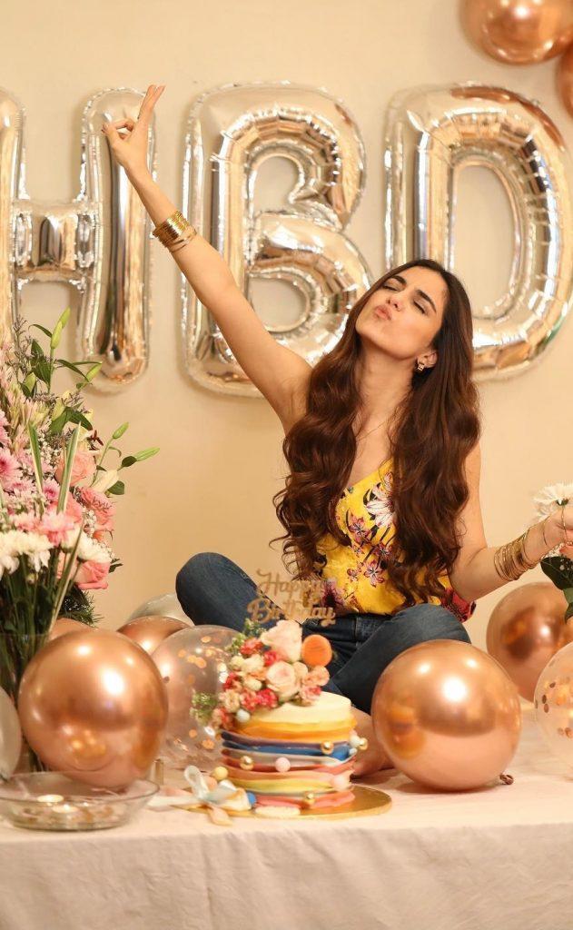Maya Ali's Birthday Celebrations