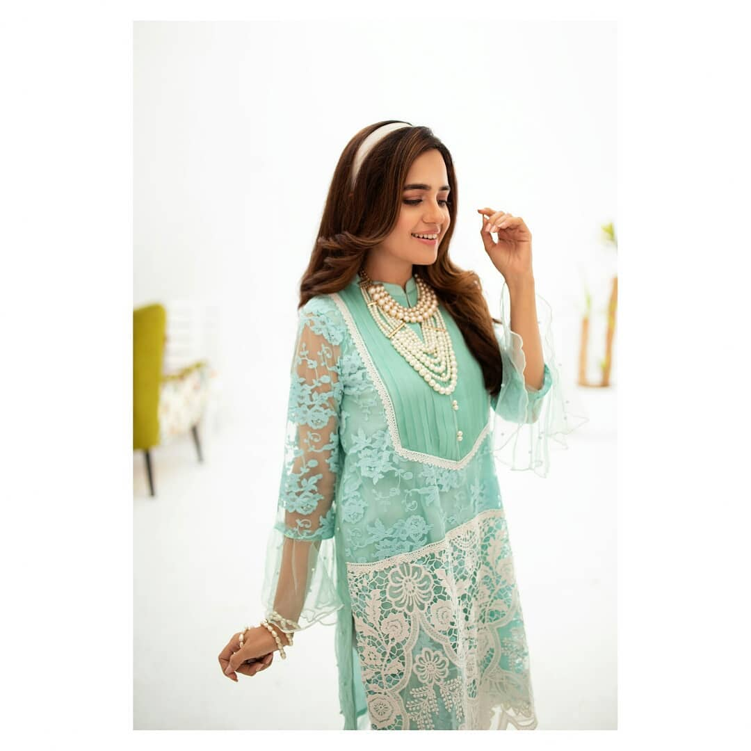 Actress Sumbul Iqbal Latest Photo Shoot for RJ's Pret