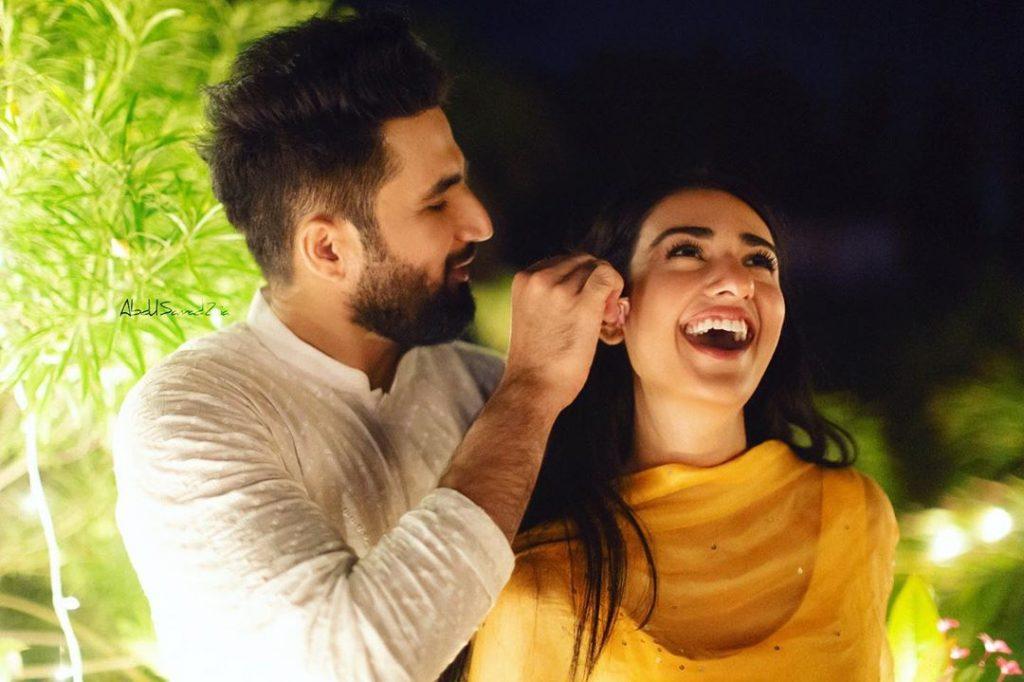 Sweetest Rukhsati Moment From Sarah Khan's Wedding