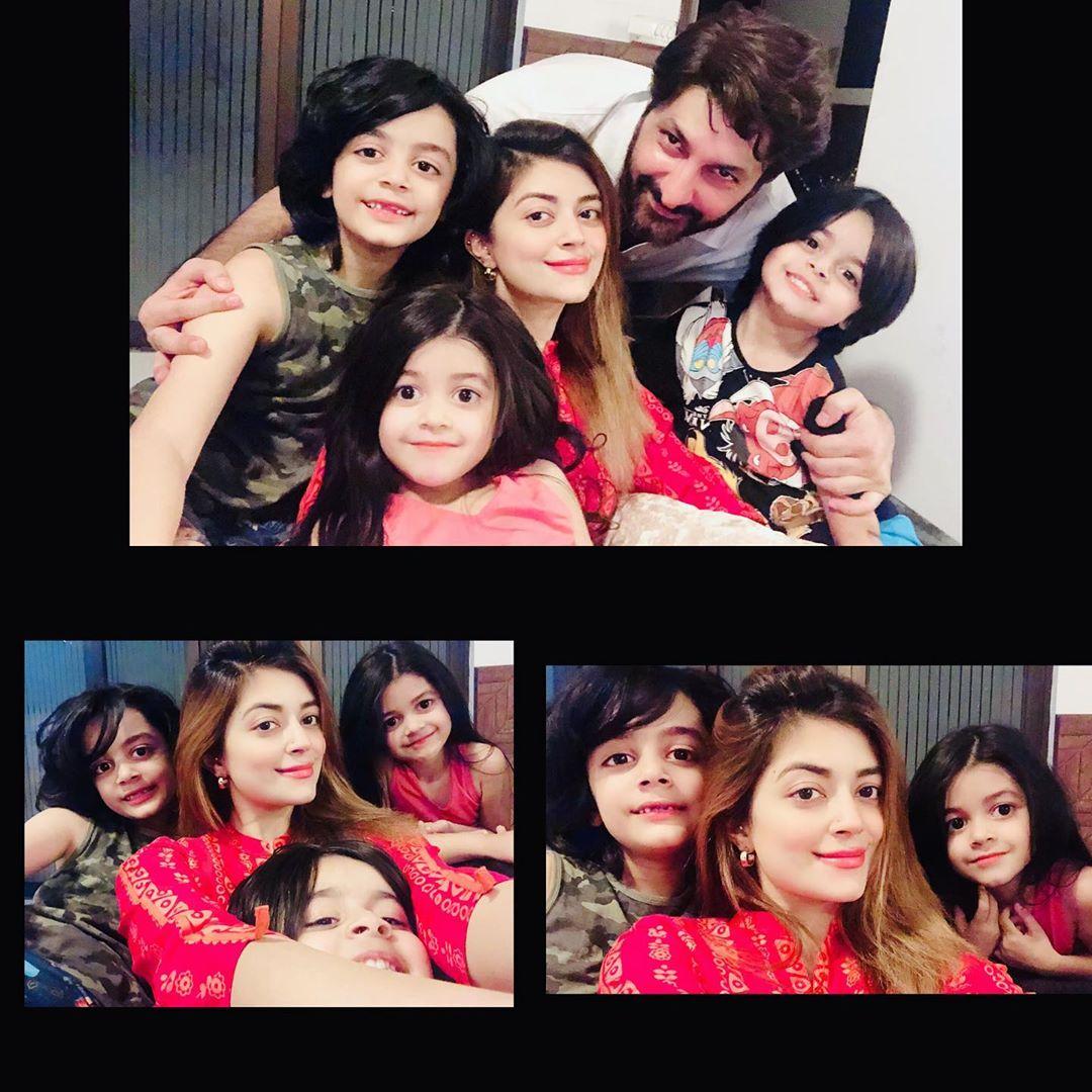 Syed Jibaran with Wife and Kids Enjoying in Nathia Gali