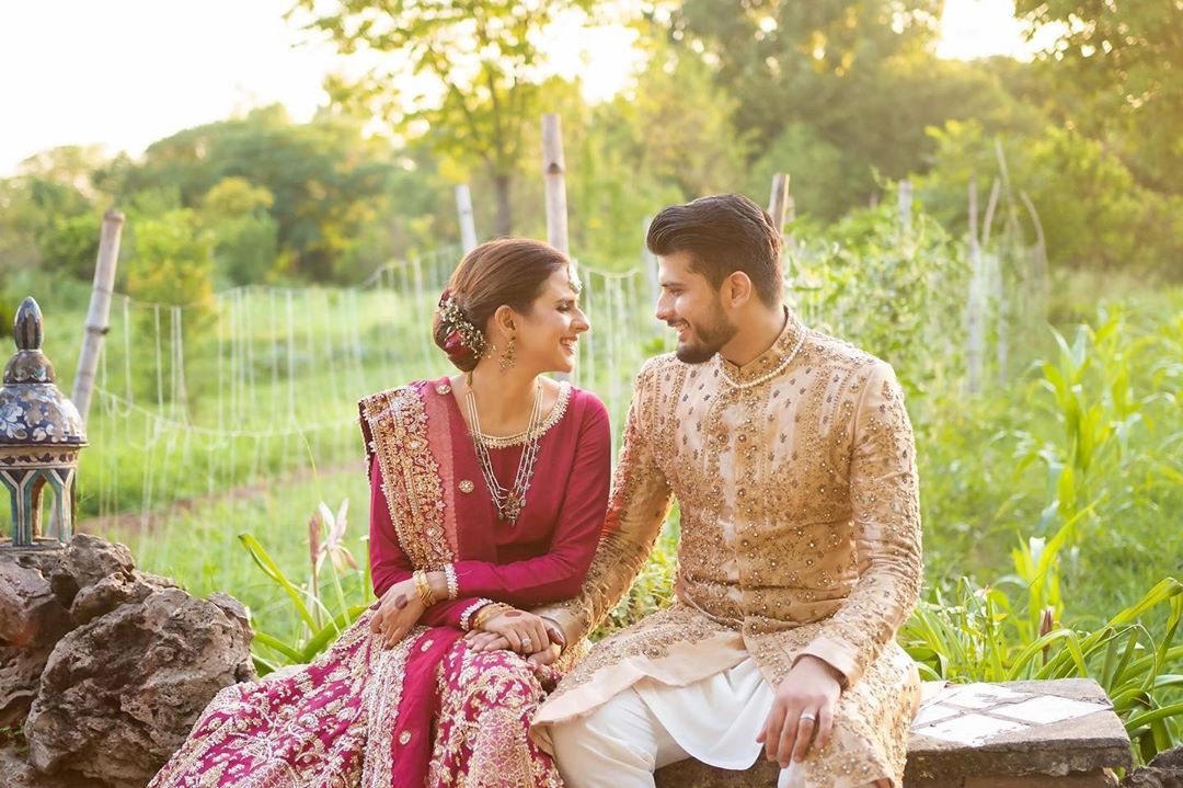 Model & Actress Waliya Najib Wedding Pictures
