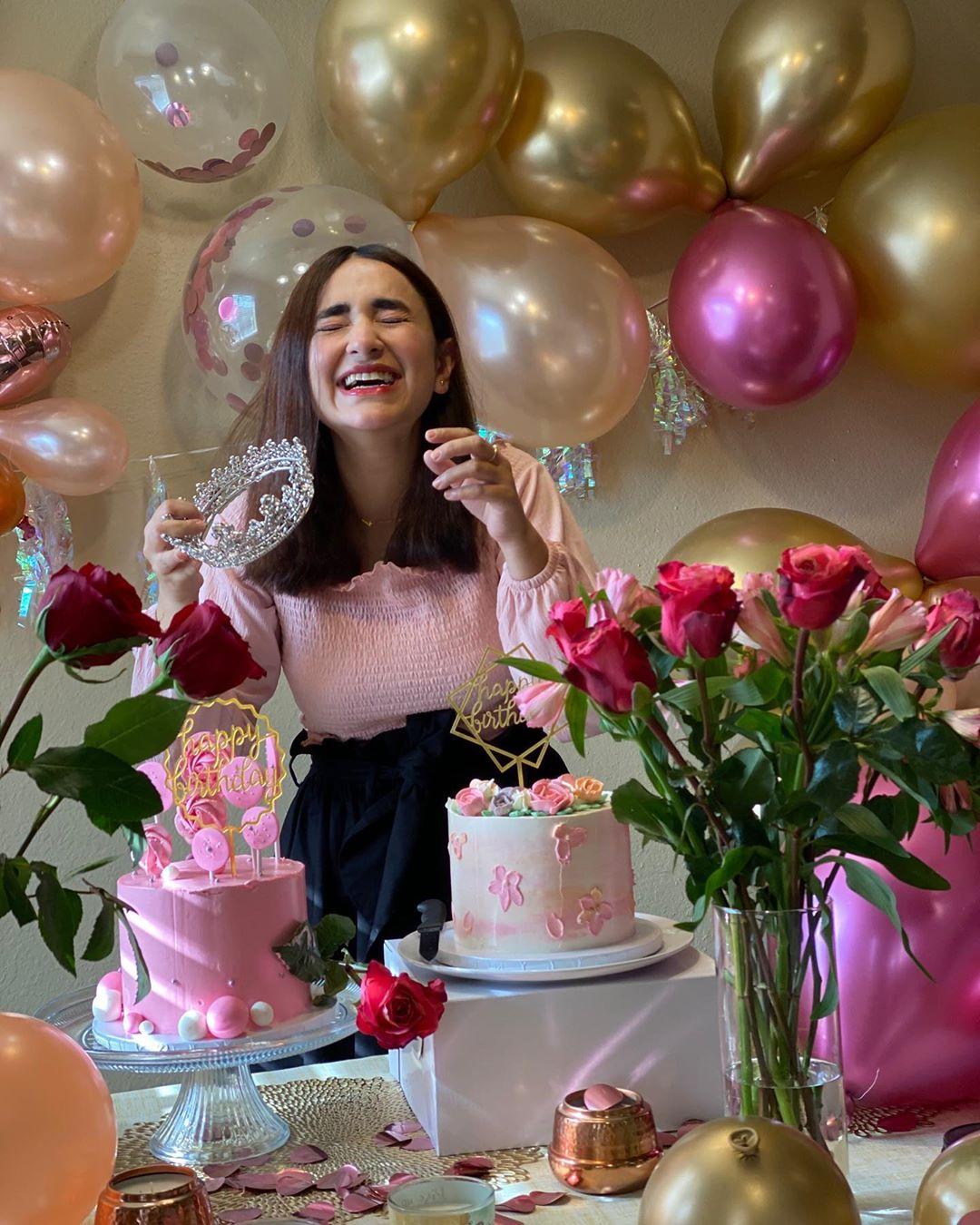 Yumna Zaidi Birthday 1