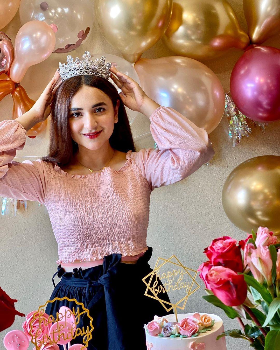 Yumna Zaidi Birthday 3