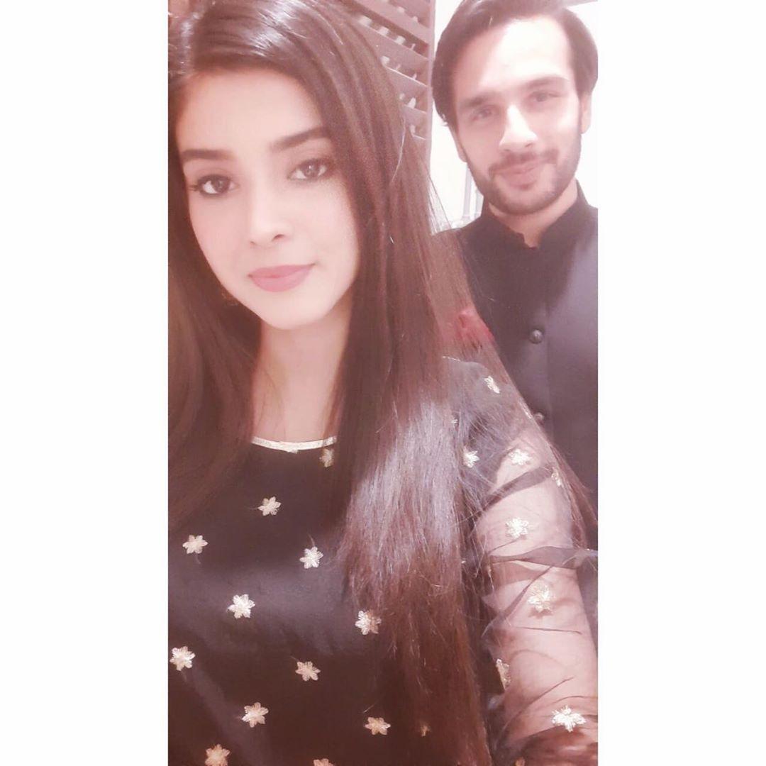 New Celebrity Couple Zainab Shabir and Osama Khan - Pictures