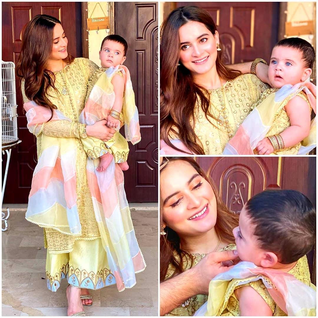 Aiman and Muneeb Daughter Amal Latest Beautiful Clicks